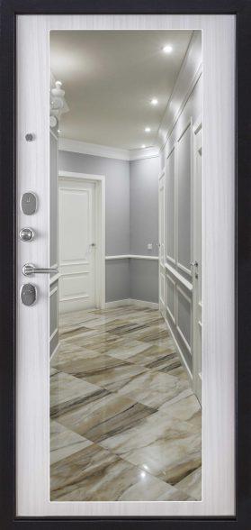 1 Внутренняя отделка сандал белый зеркало МАХI