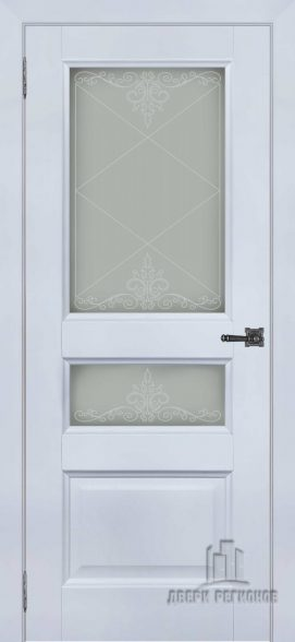 Аликанте 2 серый шелк RAL7047, стекло Версаль