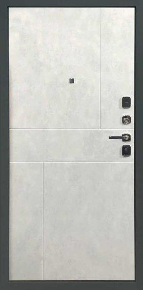 Внутренняя отделка ПВХ светлый бетон Рис. FUSION